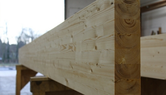 Glulam Roof Beams - Timber Engineering - Sydenhams